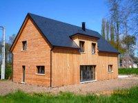 constructeur maison bois maison ossature bois normandie gueudry. Black Bedroom Furniture Sets. Home Design Ideas