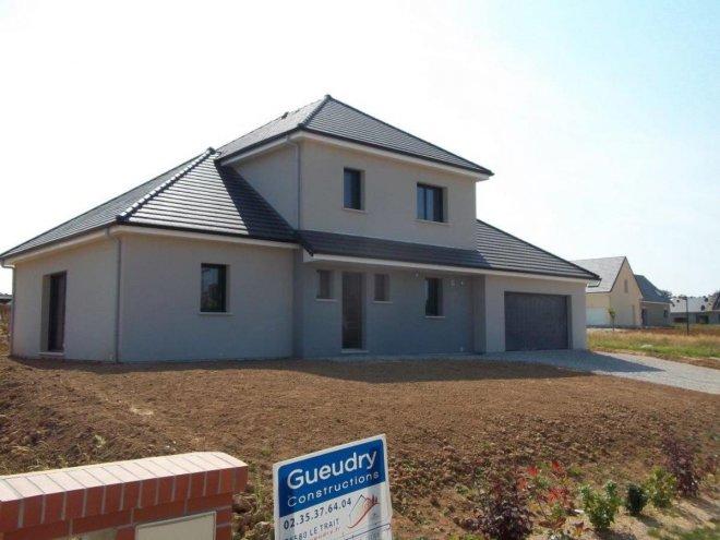 Maison tage 76 12156 gueudry for Constructeur de maison contemporaine 76