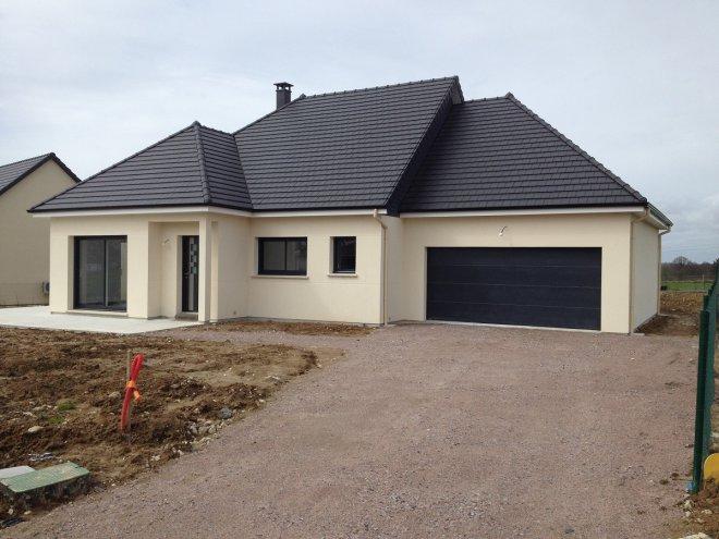 Maison de plain pied 76 14012 gueudry for Prix maison cle en main sans terrain