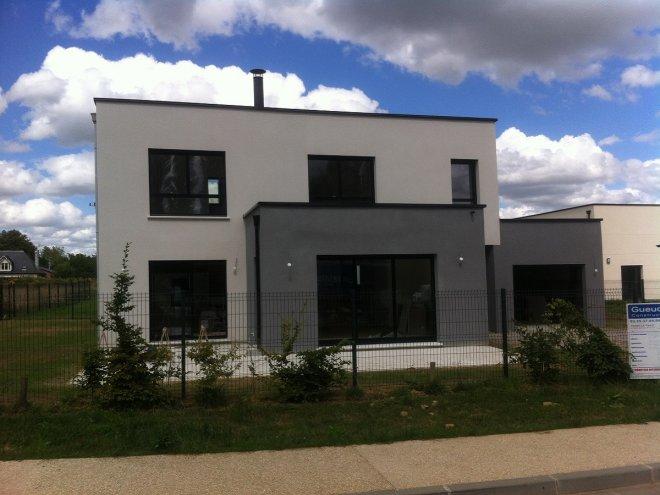 maison contemporaine bois guillaume avec des id es int ressantes pour la. Black Bedroom Furniture Sets. Home Design Ideas