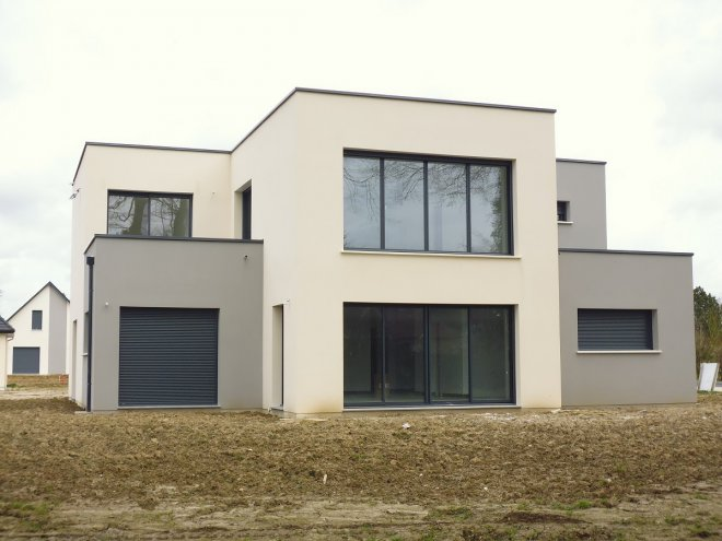 Maison toit terrasse 76 14018 gueudry for Toit terrasse immobilier