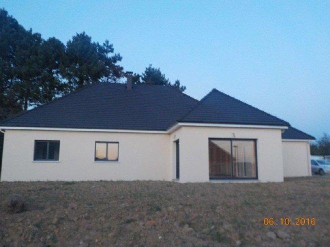 Maison de plain pied  Mélamare  (76)