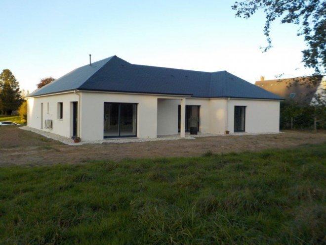 Constructeur maison contemporaine maison moderne for Constructeur eure