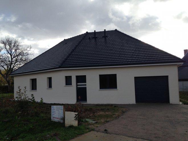 Maison de plain pied  La Vaupalière  (76)