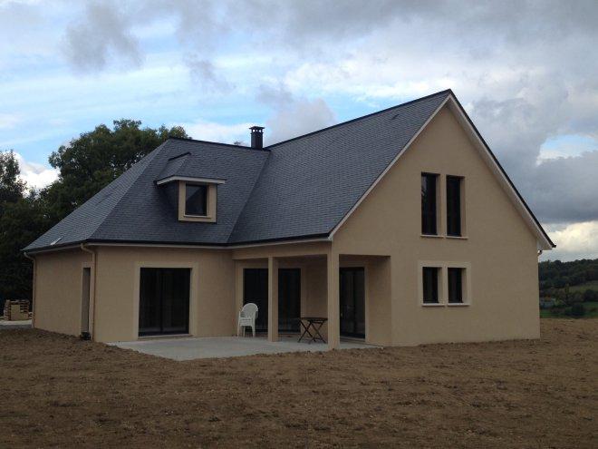 Maison à étage  Manneville-la-Pipard  (14)
