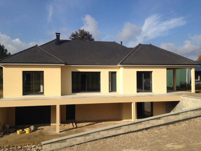 Maison de plain pied  Beaumont-le-Hareng  (76)