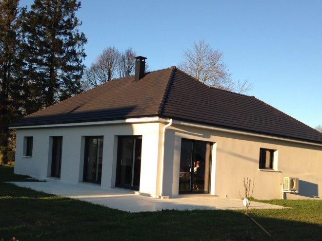 Maison de plain pied  Ancourteville-sur-Héricourt  (76)