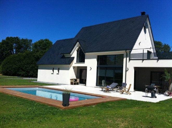 maison toit terrasse 14 14057 gueudry. Black Bedroom Furniture Sets. Home Design Ideas