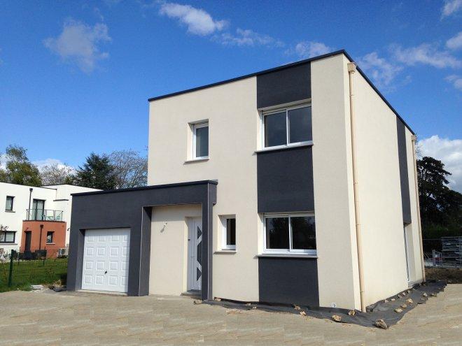 Maison moderne toit plat prix extension toit plat maison - Maison toit plat prix ...