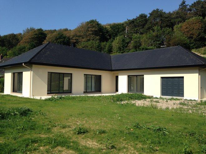 Maison de plain pied  Saint-Martin-aux-Buneaux  (76)