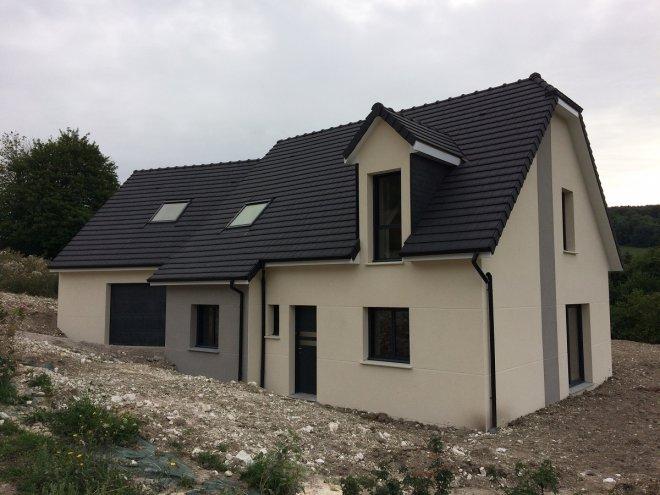 Constructeur maison contemporaine maison moderne for Maison moderne normandie