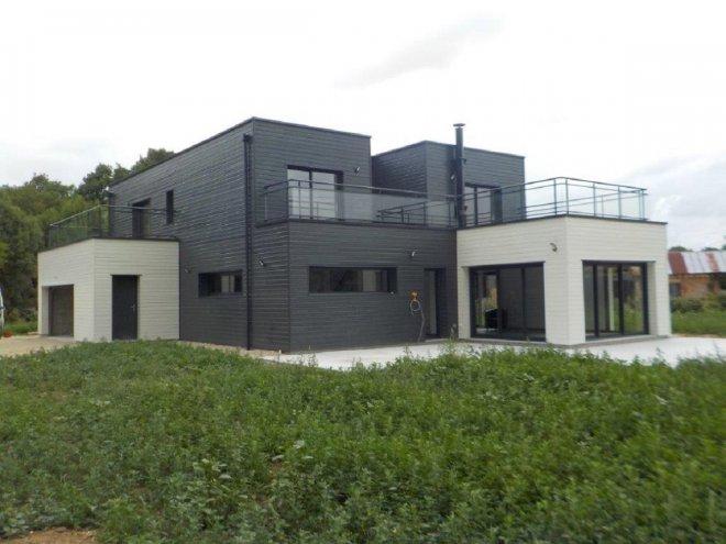 Maison Toit Terasse