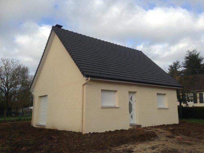 Maison de plain pied  Blacqueville  (76)