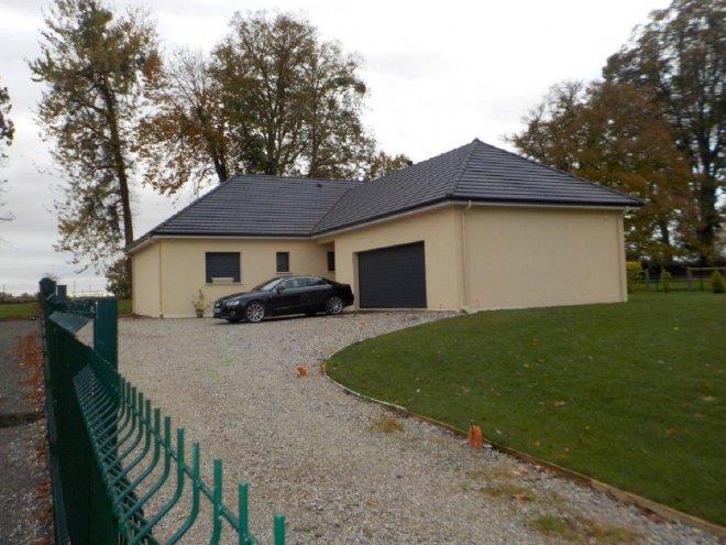 Maison de plain pied  Vraiville  (27)