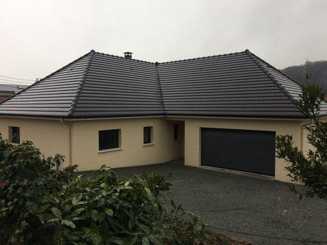 Maison de plain pied  Gruchet-le-Valasse  (76)
