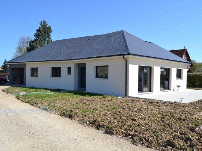 Maison de plain pied  Le Boulay-Morin  (27)