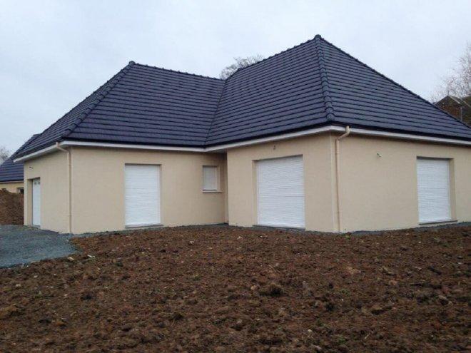 Maison de plain pied  Lanquetot  (76)