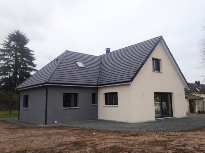 Constructeur maison contemporaine | Maison moderne Normandie | Gueudry